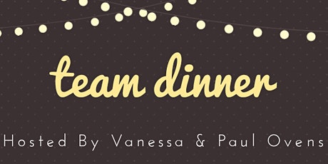 Holistic Health Haven Team Dinner with Vanessa & Paul (Private Event) tickets