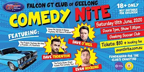 Falcon GT Club Geelong – Comedy Nite tickets
