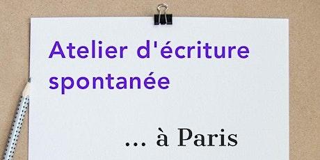 Atelier d'écriture spontanée à Paris Opéra billets