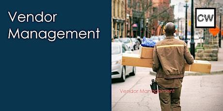 Vendor Management tickets