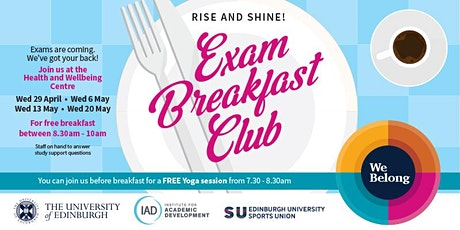 Yoga at the Exam Breakfast Club tickets