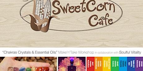 Chakras, Crystals & Essential Oils Make 'N' Take Workshop tickets