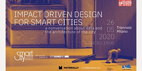 Milano Digital Week - Impact Driven Design for Smart Cities biglietti
