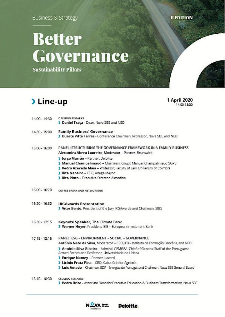 II Better Governance: Sustainability Pillars image