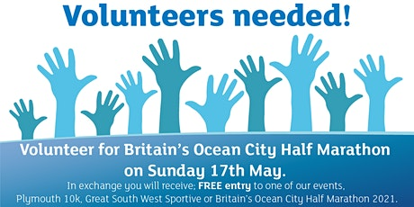 Volunteer for Britain's Ocean City Half Marathon tickets