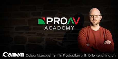 Colour Management in Production with Ollie Kenchington tickets