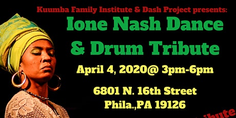 Ione Nash Dance and Drum Tribute tickets