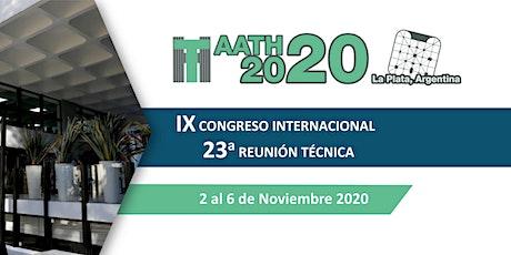 IX CONGRESO INTERNACIONAL Y 23 ° REUNIÓN TÉCNICA. entradas