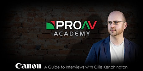 A Guide to Interviews with Ollie Kenchington tickets