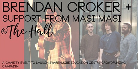 Live music night featuring Brendan Croker and others. POSTPONED tickets