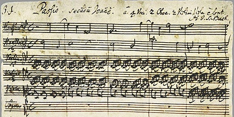 Bach - St. John Passion tickets