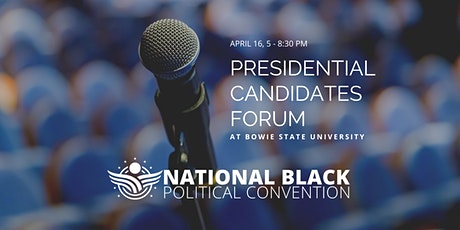 NBPC Presidential Candidates Forum tickets