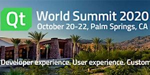 Qt World Summit 2020 Palm Springs