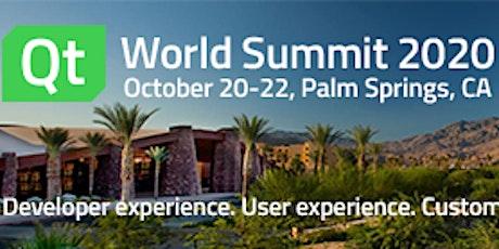 Qt World Summit 2020 Palm Springs tickets