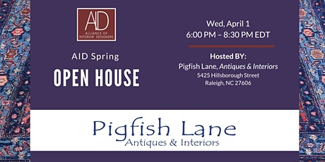 AID Open House at Pigfish Lane Antiques tickets