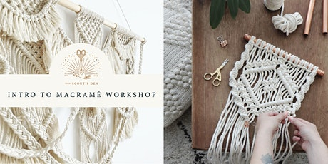 Intro to Macramé: Wall Hanging Workshop tickets