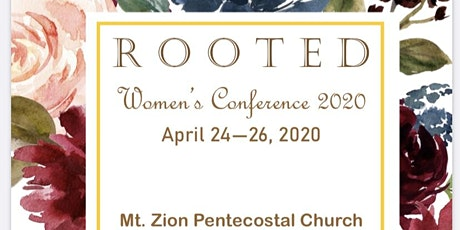 """ROOTED"" Women's Conference 2020 tickets"