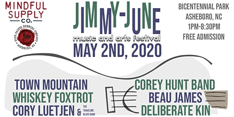 Jimmy-June Music and Arts Festival tickets