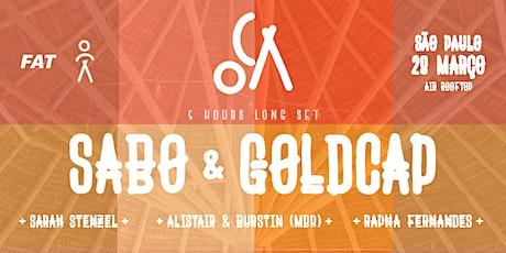 OCA apresenta: Sabo & Goldcap ingressos