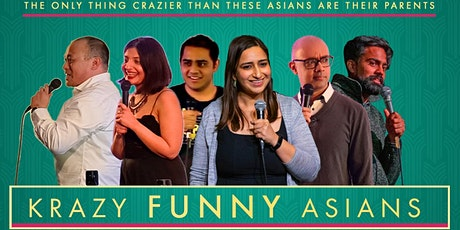 Krazy Funny Asians - English Comedy Showcase tickets