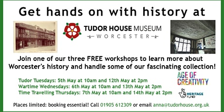 Age of Creativity: Hands on History tickets