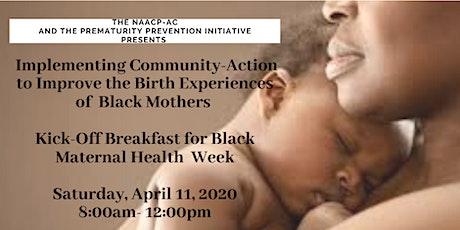 Kick-Off Breakfast  for Black Maternal Health  Week tickets