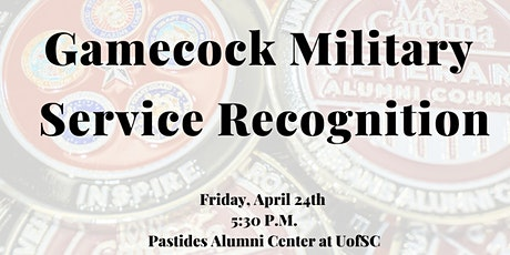 EVENT CANCELED:Gamecock Military Service Recognition  tickets