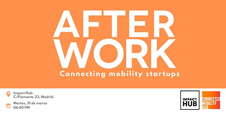 After work: Connecting Mobility Startups tickets