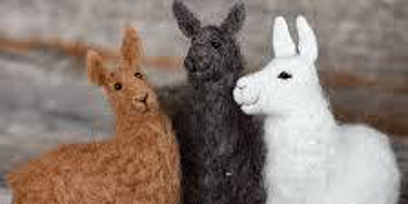 Needle Felt Llama Workshop tickets