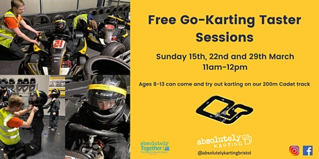 Go-Karting Taster (Age 8-13) tickets