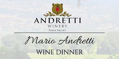Andretti Wine Dinner tickets
