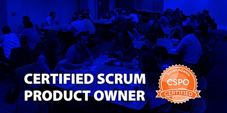 Certified Scrum Product Owner - CSPO + Lean Startup, MVP and Metrics (Online - US, April 30th-May 01st) tickets