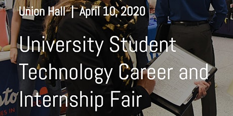 University Student Technology Career and Internship Fair tickets