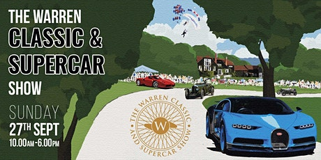 The Warren Classic and Supercar Show 2020 tickets