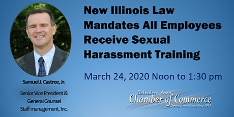 Lunch & Learn : New Illinois Annual Required Training Opportunity tickets