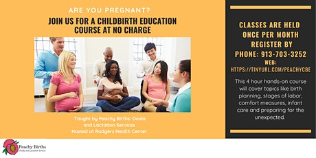 Childbirth Education Class: No charge tickets
