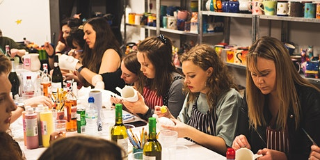 Pottery Painting - Friday BYOB Session tickets