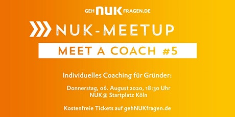 Meet a coach #5 | NUK-Meetup  Tickets