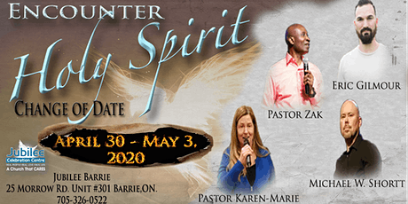 Encounter Holy Spirit Conference tickets