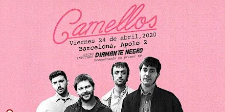 CAMELLOS + Diamante Negro en Barcelona (La [2] de Apolo) entradas