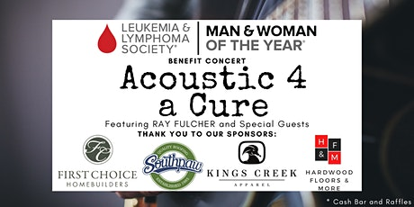 Acoustic 4 A Cure - LLS Benefit Concert tickets