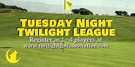 Tuesday Twilight League at General Old Golf Course tickets