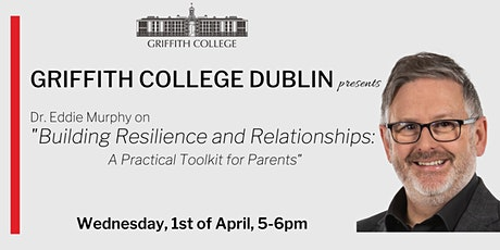 "Dr Eddie Murphy ""A Practical Toolkit for Parents"" tickets"