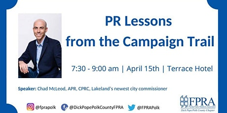FPRA April Meeting: PR Lessons from the Campaign Trail tickets