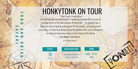 HonkyTonk on Tour Food and Drink Safari tickets