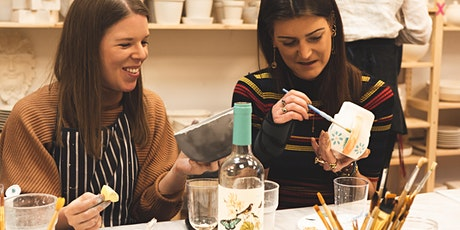 Pottery Painting - Wednesday Late Night BYOB Session tickets