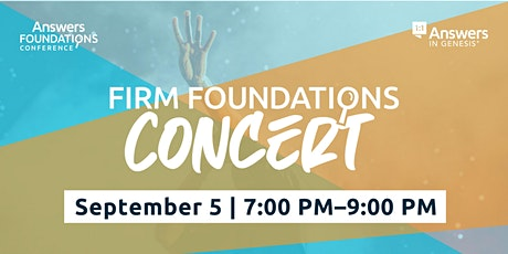 Firm Foundations Concert tickets