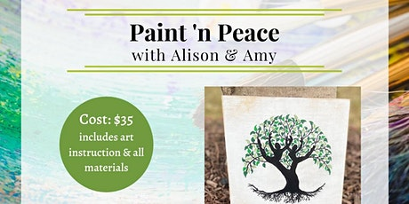 Paint 'n Peace with Alison & Amy tickets