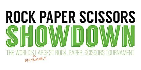 3rd Annual Rock, Paper, Scissors Showdown tickets