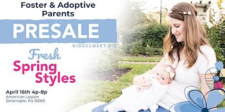 KCC Foster & Adoptive Parent Presale tickets